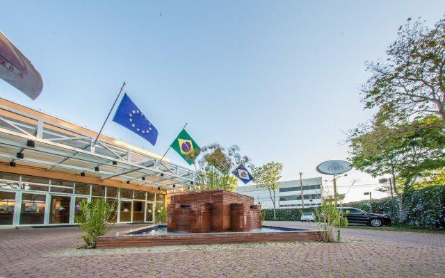 Отель Summit Baobá Hotel Бразилия, Таубате - отзывы, цены и фото номеров - забронировать отель Summit Baobá Hotel онлайн вид на фасад