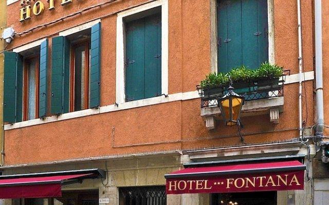 Hotel Fontana вид на фасад
