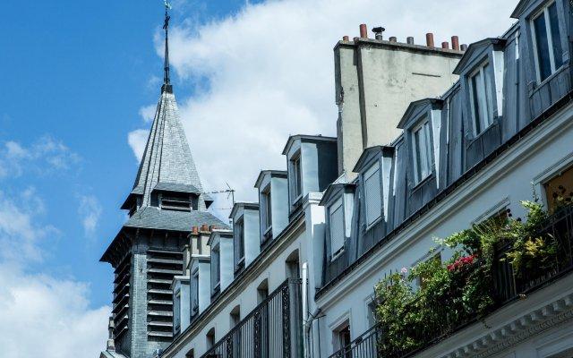 Отель Hôtel Beaurepaire (Paris - République) Франция, Париж - 1 отзыв об отеле, цены и фото номеров - забронировать отель Hôtel Beaurepaire (Paris - République) онлайн вид на фасад
