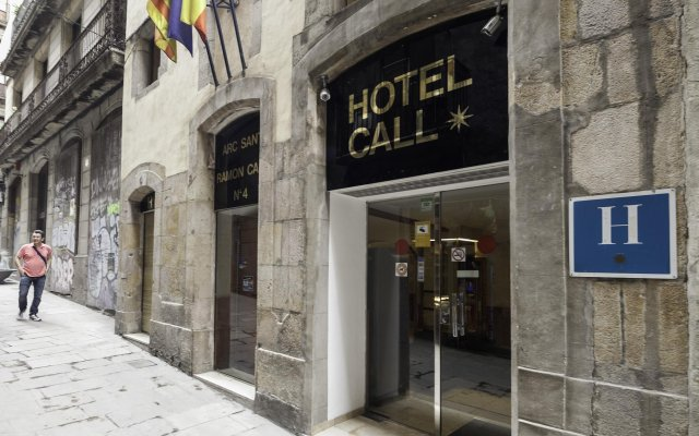 Hotel El Call вид на фасад