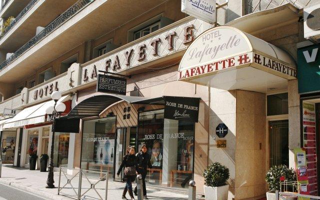 Hotel Lafayette вид на фасад