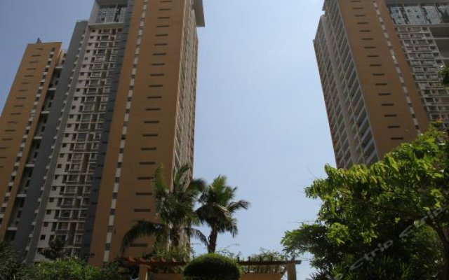 Апартаменты FangJie Apartment вид на фасад