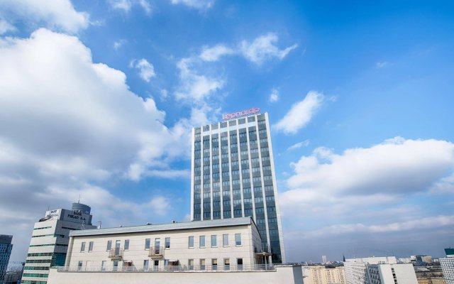 JM Hotel вид на фасад