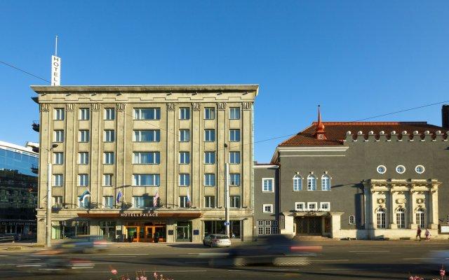 Hotel Palace Таллин вид на фасад