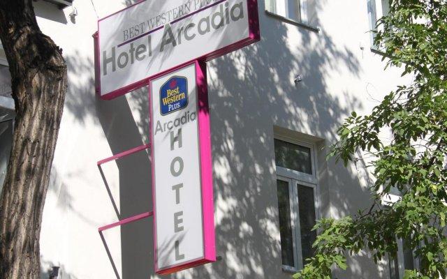 Отель Best Western Plus Arcadia Вена вид на фасад