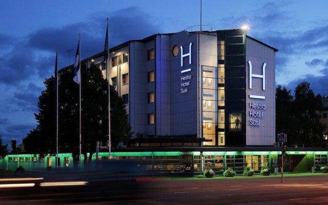 Hestia Hotel Susi вид на фасад