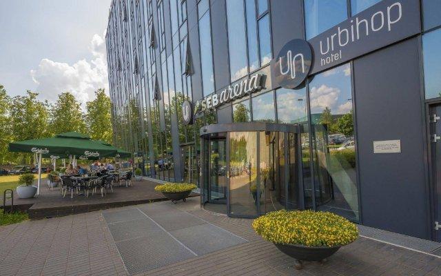 Отель Urbihop Hotel Литва, Вильнюс - - забронировать отель Urbihop Hotel, цены и фото номеров вид на фасад