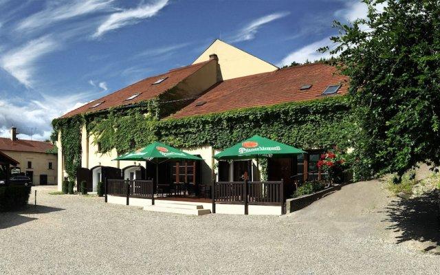 Отель Usedlost Kotlářka Чехия, Прага - отзывы, цены и фото номеров - забронировать отель Usedlost Kotlářka онлайн вид на фасад