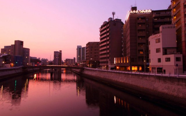 Отель Areaone Hakata Хаката вид на фасад