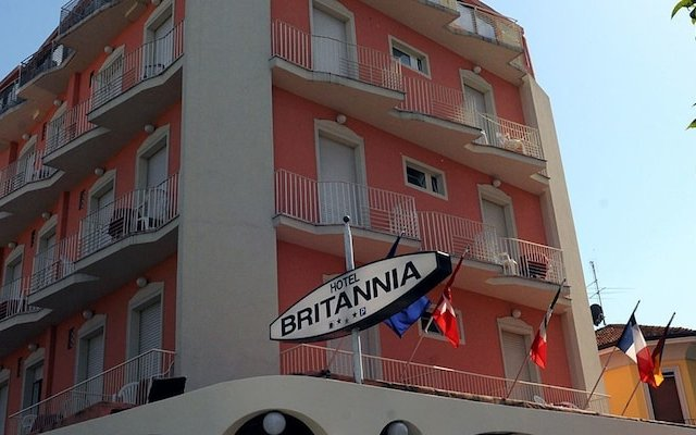 Hotel Britannia вид на фасад