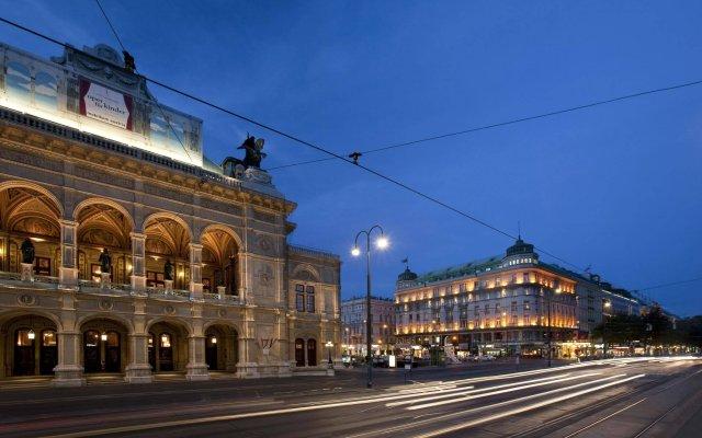 Отель Bristol, a Luxury Collection Hotel, Vienna Австрия, Вена - 3 отзыва об отеле, цены и фото номеров - забронировать отель Bristol, a Luxury Collection Hotel, Vienna онлайн вид на фасад