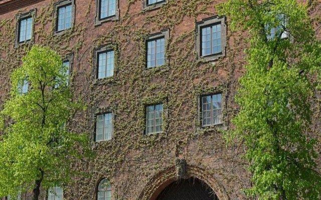 Отель First Norrtull Стокгольм вид на фасад