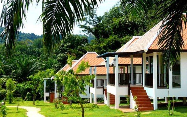 Отель Supsangdao Resort вид на фасад