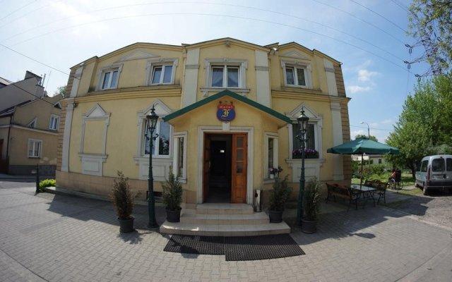 Отель Florian Краков вид на фасад