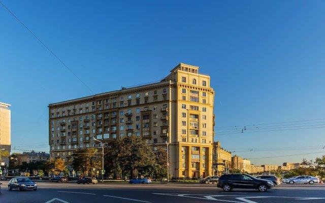 Гостиница GM Apartment New Arbat 31-12 в Москве отзывы, цены и фото номеров - забронировать гостиницу GM Apartment New Arbat 31-12 онлайн Москва вид на фасад