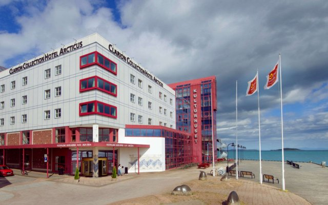 Clarion Collection Hotel Arcticus вид на фасад