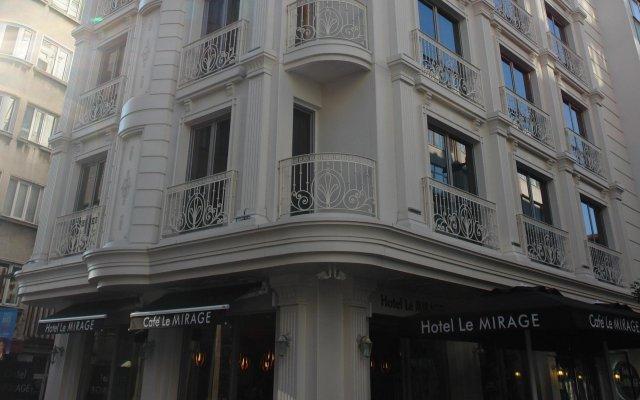 Hotel Le Mirage вид на фасад