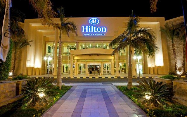 Отель Хилтон Хургада Резорт вид на фасад