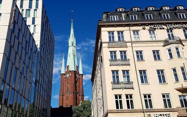 Hotel Terminus Stockholm вид на фасад