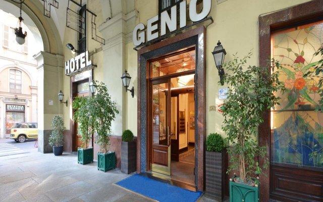 Отель Best Western Hotel Genio Италия, Турин - 1 отзыв об отеле, цены и фото номеров - забронировать отель Best Western Hotel Genio онлайн вид на фасад