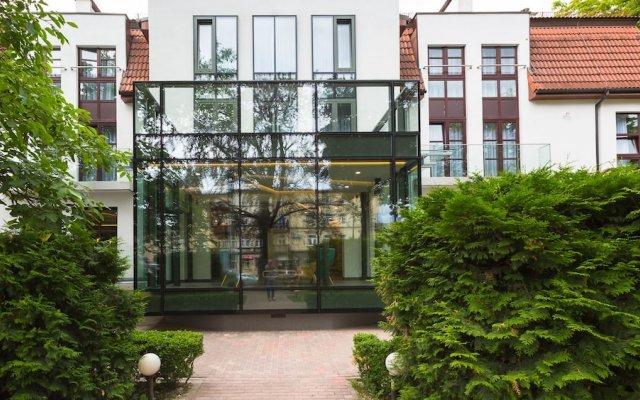 Отель Villa Ozone вид на фасад