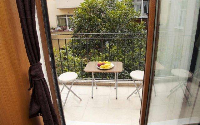Апартаменты Taksim Ultra Vip Apartments балкон