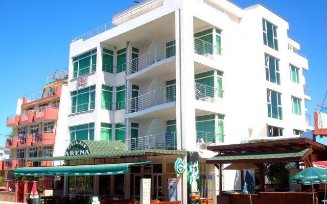 Отель Arena Hotel Болгария, Приморско - отзывы, цены и фото номеров - забронировать отель Arena Hotel онлайн вид на фасад
