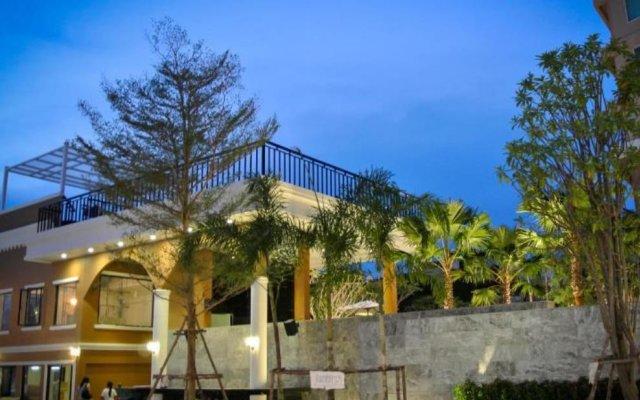 Grand Scenaria Hotel Pattaya вид на фасад