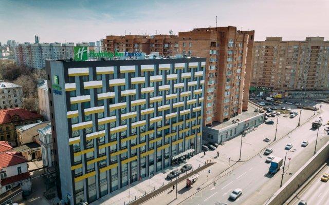 Отель Holiday Inn Express Moscow Baumanskaya Москва вид на фасад