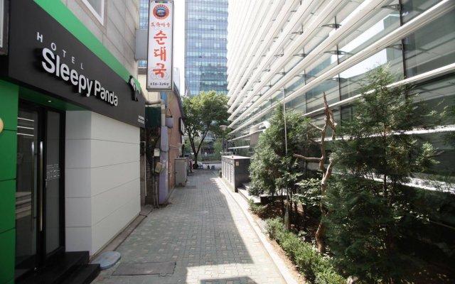 Отель Sleepy Panda Stream Walk Южная Корея, Сеул - отзывы, цены и фото номеров - забронировать отель Sleepy Panda Stream Walk онлайн вид на фасад
