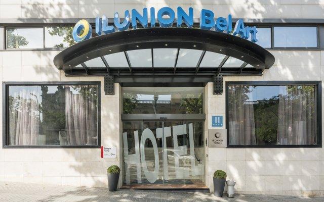 Отель ILUNION Bel-Art вид на фасад