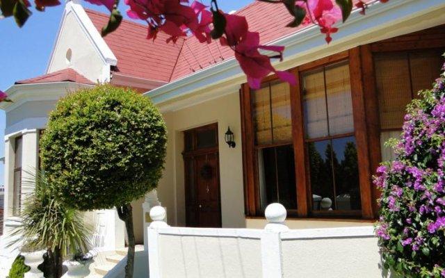 Отель Cape Diem Lodge Кейптаун вид на фасад