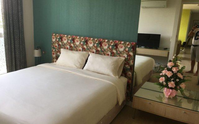 Отель Grande Caribbean Pattaya With Waterpark Free Wifi Паттайя комната для гостей