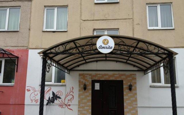 Отель Амрита Экспресс Челябинск вид на фасад