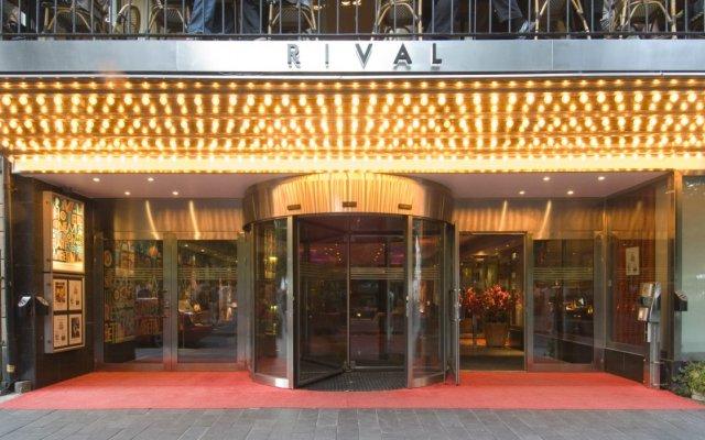 Hotel Rival вид на фасад