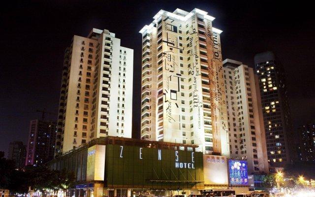 Отель Zense Hotel Китай, Шэньчжэнь - отзывы, цены и фото номеров - забронировать отель Zense Hotel онлайн вид на фасад