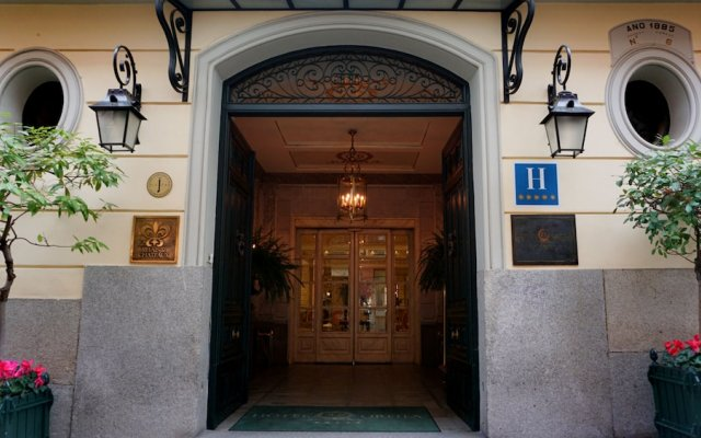 Отель Relais&Chateaux Orfila Мадрид вид на фасад