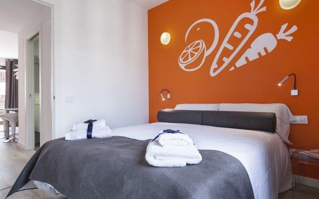Отель Habitat Apartments ADN Испания, Барселона - отзывы, цены и фото номеров - забронировать отель Habitat Apartments ADN онлайн вид на фасад