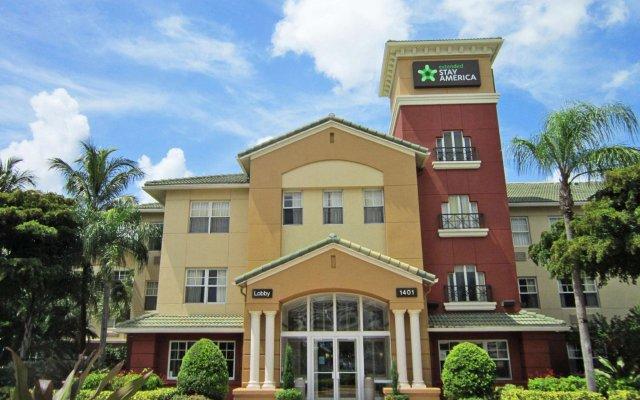 Отель Extended Stay America Fort Lauderdale - Cypress Creek Prk N вид на фасад