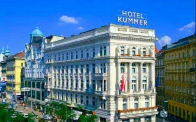 Отель KUMMER Вена вид на фасад