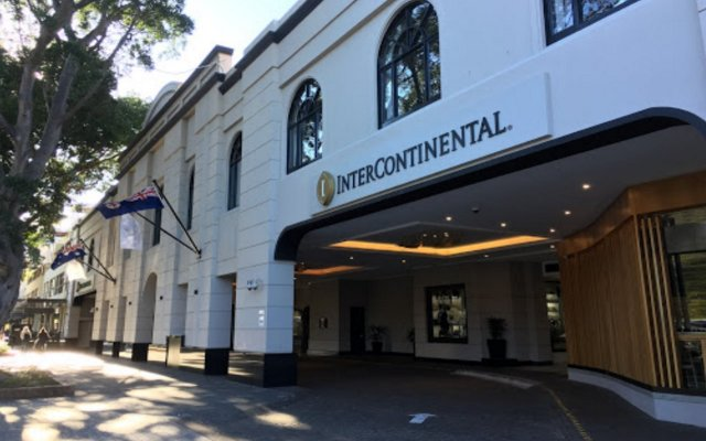 Отель Intercontinental Sydney Double Bay Истерн-Сабербс вид на фасад