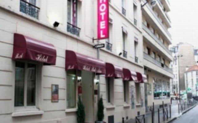 Отель Bel Air Франция, Париж - отзывы, цены и фото номеров - забронировать отель Bel Air онлайн вид на фасад