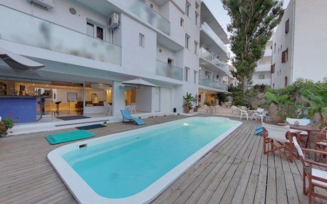 Отель MEMORY Греция, Лимин-Херсонису - отзывы, цены и фото номеров - забронировать отель MEMORY онлайн бассейн