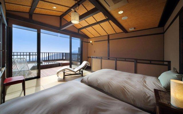 Отель Oyado Uchiyama Ито комната для гостей