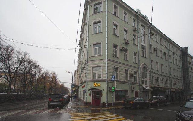 ЭйчЭм Хостел Москва вид на фасад