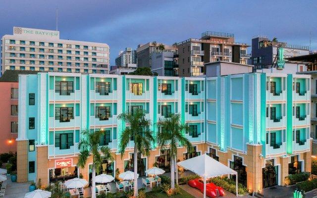 Отель Wave вид на фасад