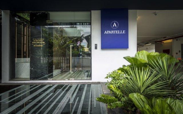 Отель Apartelle Jatujak Hotel Таиланд, Бангкок - отзывы, цены и фото номеров - забронировать отель Apartelle Jatujak Hotel онлайн вид на фасад