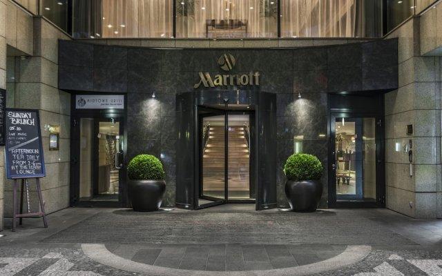 Prague Marriott Hotel Прага вид на фасад