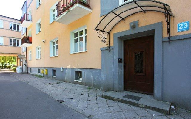 Отель Toscania Сопот вид на фасад