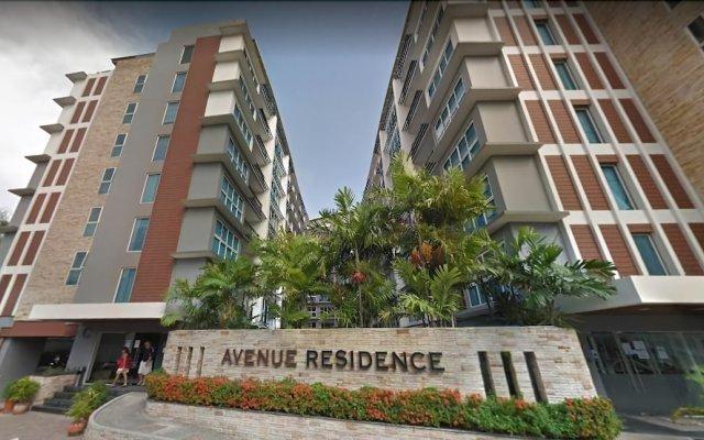 Отель Modernized Condo Seaview Central Pattaya вид на фасад